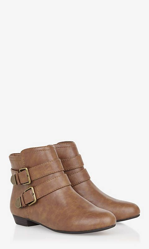 DOUBLE BUCKLE BOOTIE | Express