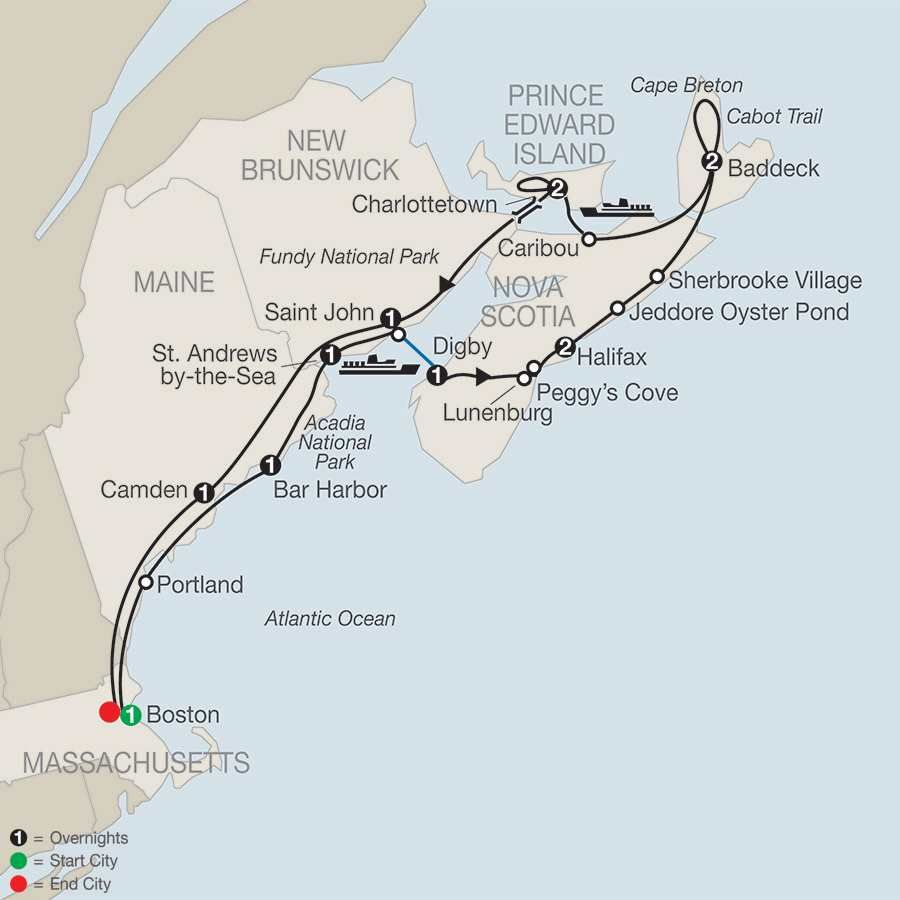 Maritimes Adventure In 2020 Canada Tours East Coast