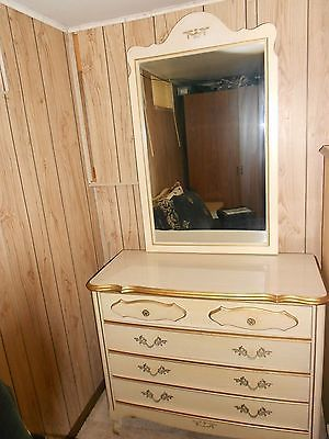 Sears French Provincial Bedroom Set, didn\'t have the mirror, only ...