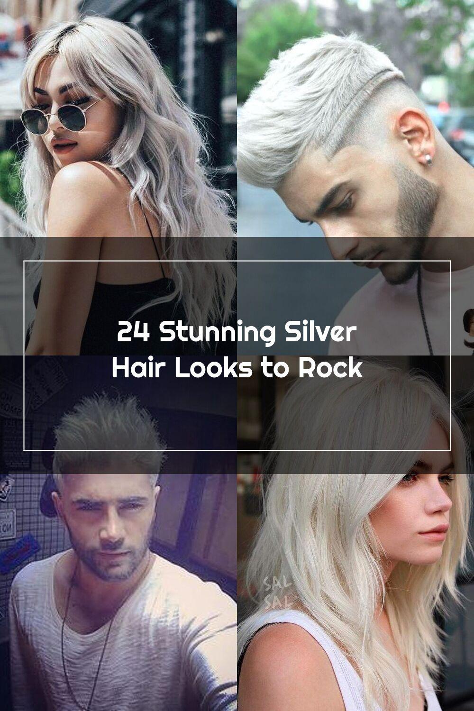 18 Stunning Silver Hair Looks to Rock   Silver hair, Hair looks ...