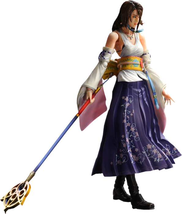 Final Fantasy X Yuna Hd Remaster Play Arts Figure Yuna Final Fantasy Final Fantasy X Final Fantasy