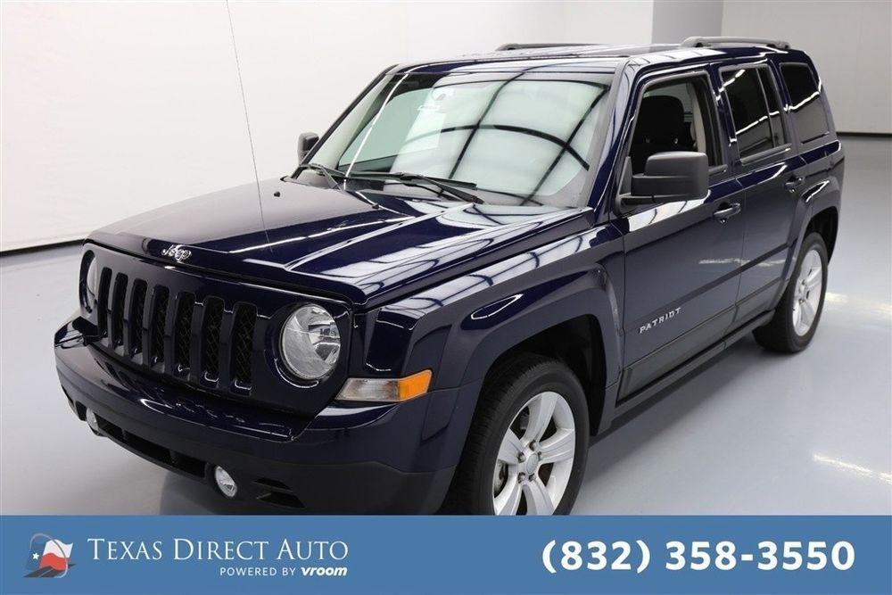 eBay 2017 Jeep Patriot Latitude Texas Direct Auto 2017