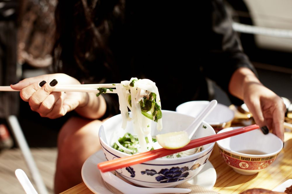 DIY pho bar | party inspirations | Lunch delivery, Rice
