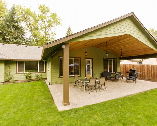 How To Build A Roof Over Existing Patio Or Deck Outdoor Patio Design Outdoor Patio Designs Patio Patio Design