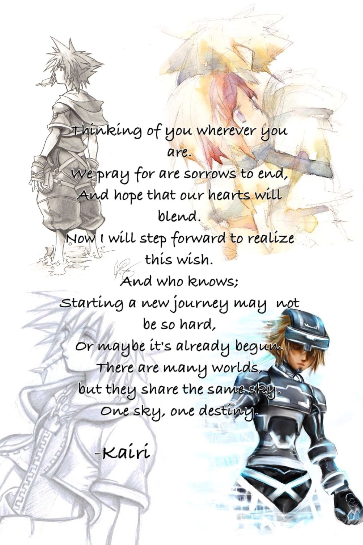Kingdom Hearts Quotes Kingdom Hearts Ll  Video Games  Pinterest  Video Game Gaming