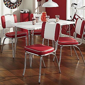 table java joint from seventh avenue for the home kitchen chairs retro dining table. Black Bedroom Furniture Sets. Home Design Ideas