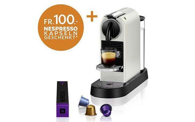 Gewinnspiel Delonghi Nespressomaschine Citiz Milchschaum Machen Nespresso Macchiato