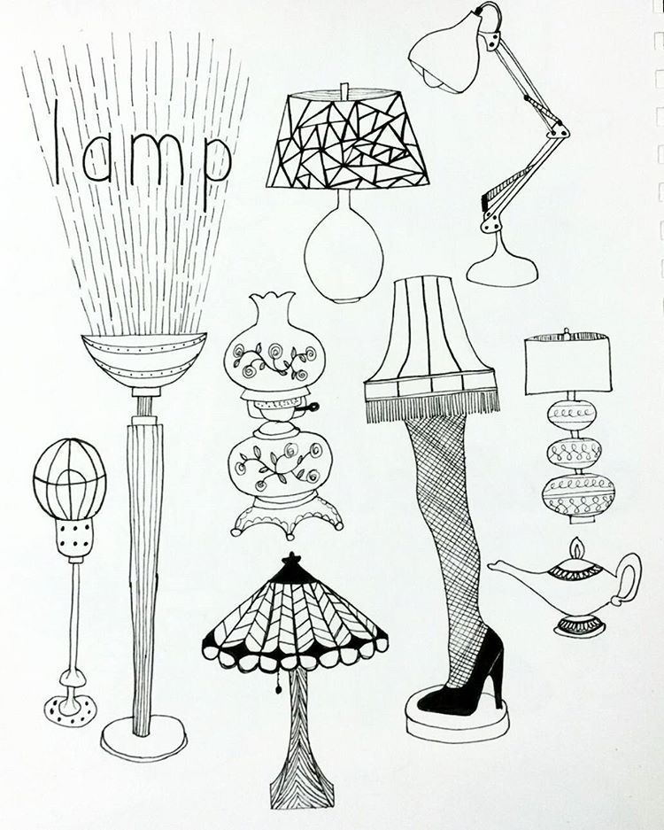Day 27 Lamps Thanks Kaciejones711 For The Leg And Hurricane