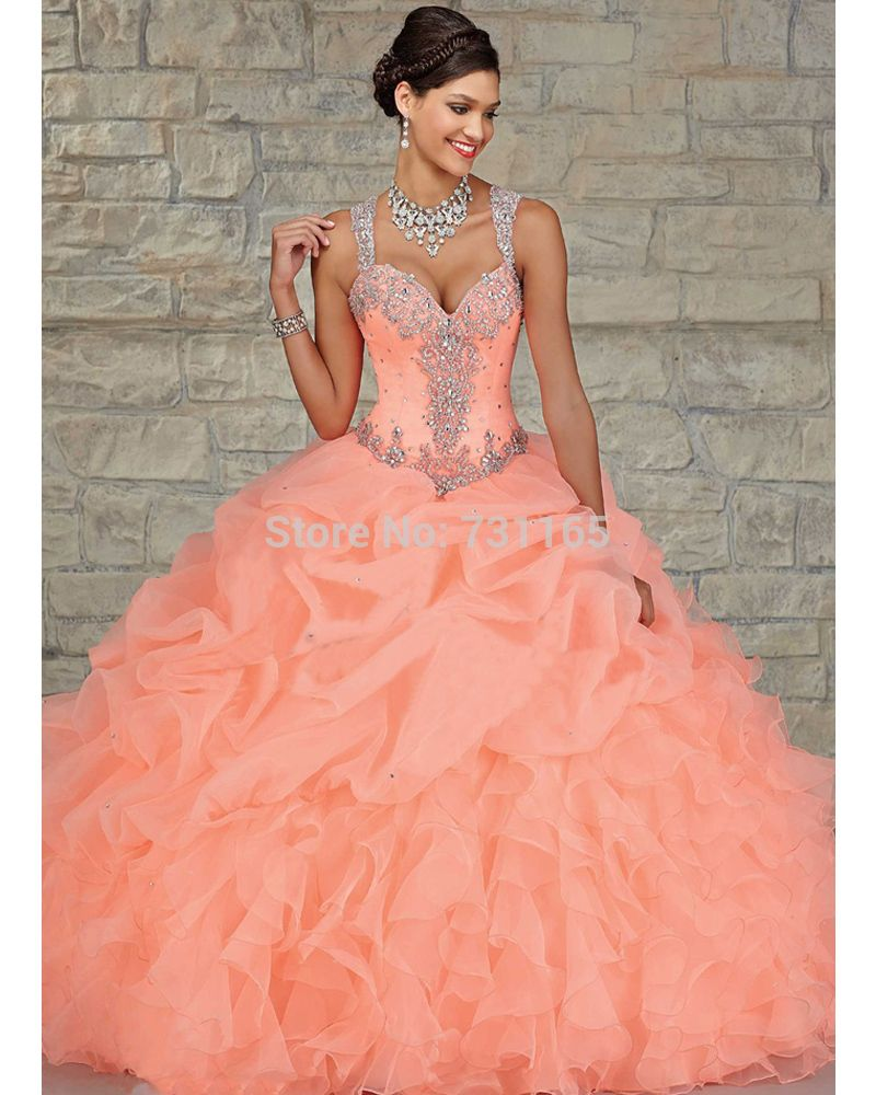 sweet 16 dresses in coral  21041f419d55
