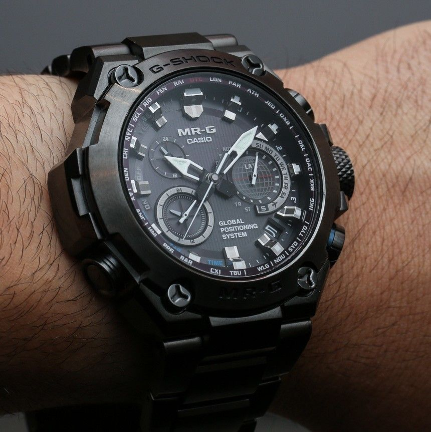 3358a57fcf1 Casio G-Shock MR-G Comes To America With Titanium Case and GPS