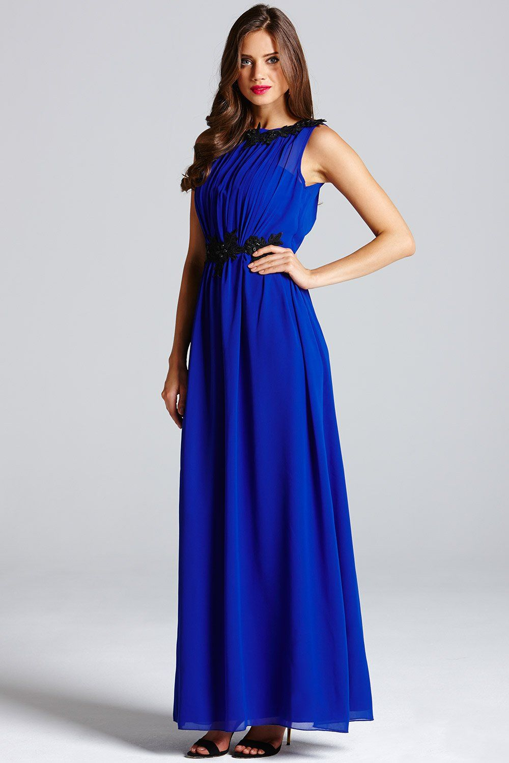 blue-maxi-dress-1-2 | Blue Maxi Dress | Pinterest | Blue maxi ...