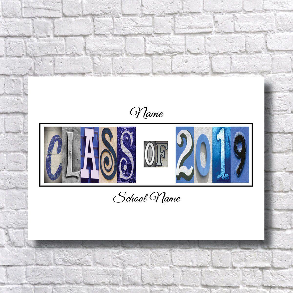 Class of 2019 Signature Print Senior Class Print 2019