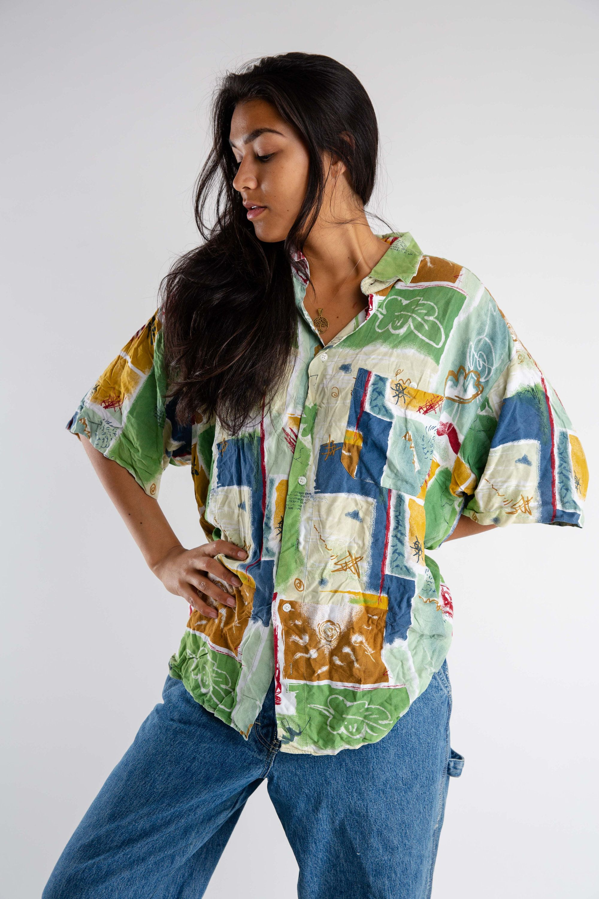 Your Place To Buy And Sell All Things Handmade Womens Shirts Printed Shirts Vintage Shorts