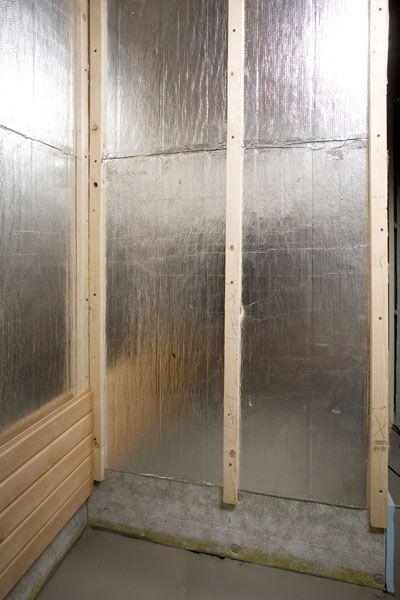 Isolation Et Par Vapeur Pour Sauna Sauna Sauna Maison Isolation