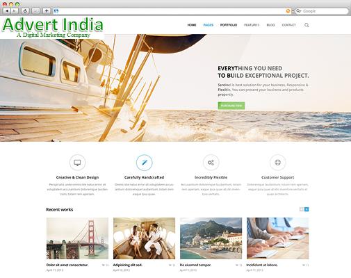 Advert India Is An International Award Winning Web Design Company Seo Agency Based In India Contact U Website Design Company Fun Website Design Website Design