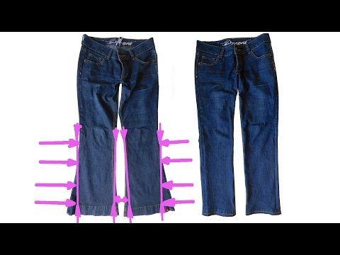 irene geschickte h nde bootcut zur r hre umn hen hosenbeine enger n hen anleitung jeans. Black Bedroom Furniture Sets. Home Design Ideas