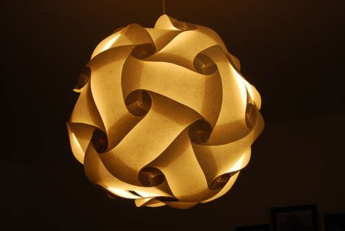Universal Lamp Shade Polygon Building Kit Painting Lamp