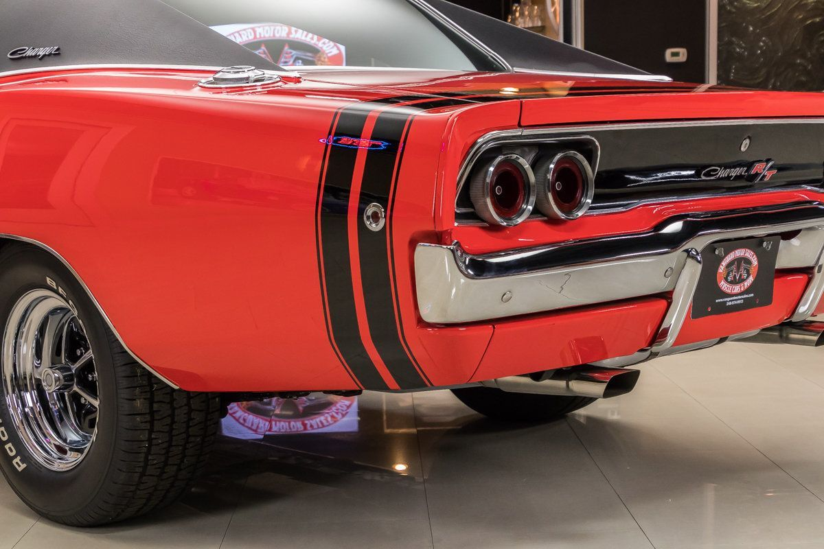 1968 Dodge Charger | Vanguard Motor Sales | Dodge Charger classic ...