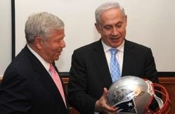 Patriots Owner Robert Kraft to Donate 6 Million for Israel39s First American Patriots Owner Robert Kraft to Donate 6 Million for Israels First American