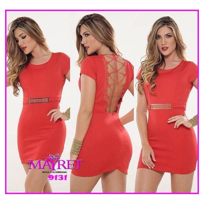 VESTIDO COLOMBIANO 9031  Precio: 36,99€  Disponible en nuestra página web www.mayret.com
