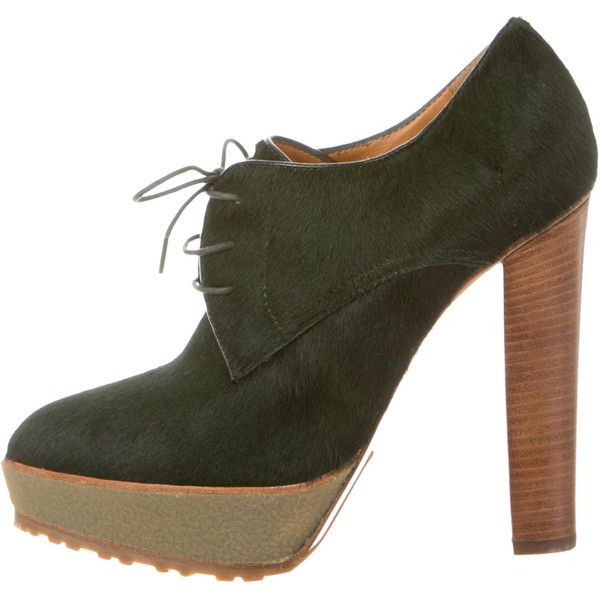 Ralph Lauren Purple Label Leather Platform Booties for sale cheap real clearance browse i7jR4fq