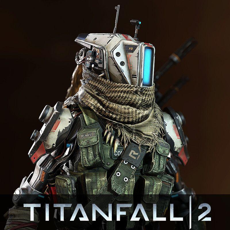 Pilot character for Titanfall 2's multiplayer. Art ...