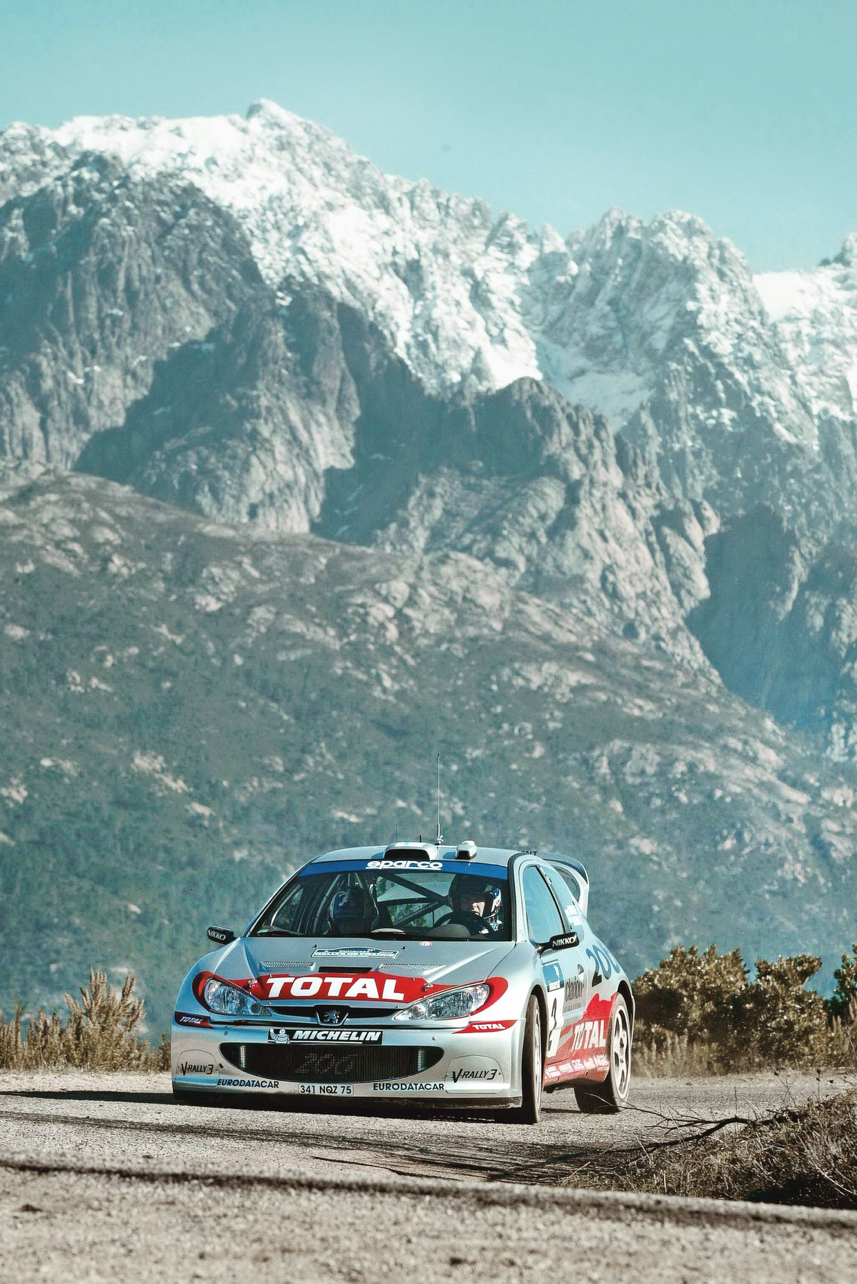 Amjayes Rally Car Rally Racing Peugeot