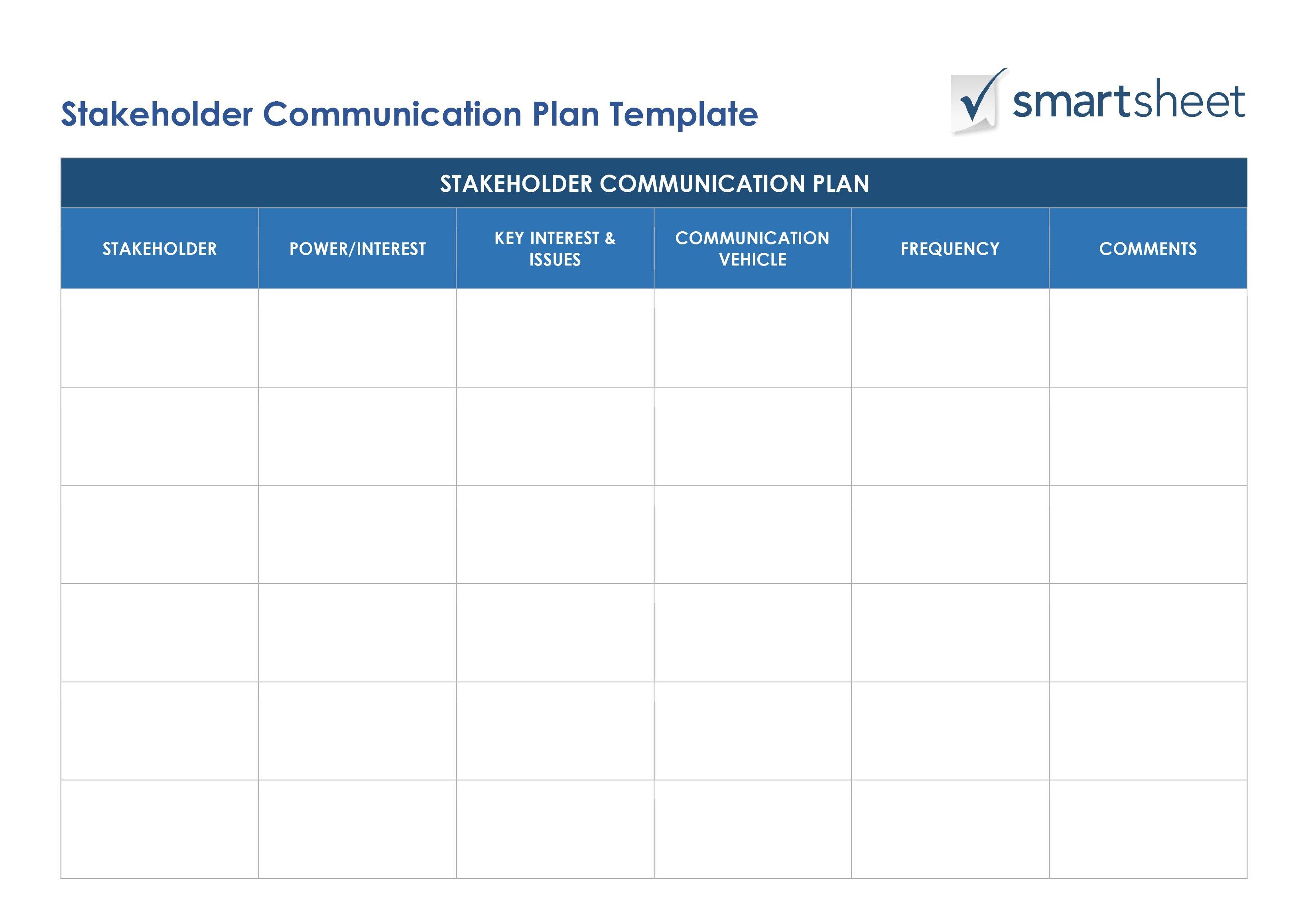Billedresultat For Iso Communication Plan