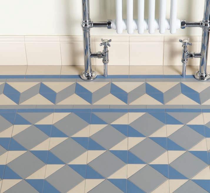 Victorian Floor Tiles Art Deco Pattern In Blue Grey And White Art Deco Kitchen Art Deco Tiles Art Deco Bathroom