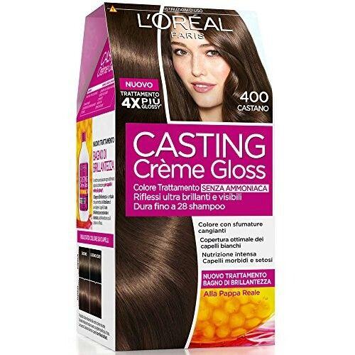 Colorazione semi-permanente Casting creme gloss 400 castano 28 ...