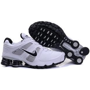 www.asneakers4u.com 407266 015 Nike Shox Turbo 11 White Black J14013