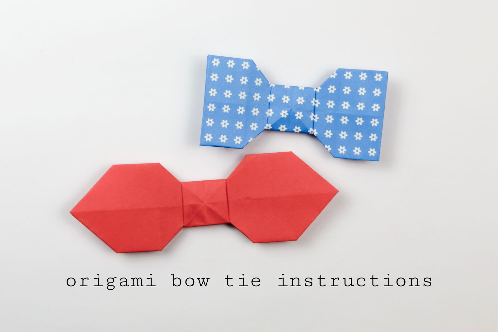 Try This Easy Origami Bow Tie Tutorial Origami Bow Origami Easy Origami Tie