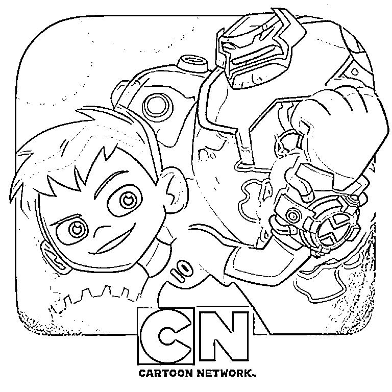 Ben 10 Coloring Pages Coloring Pages, Ben 10, 10 Things