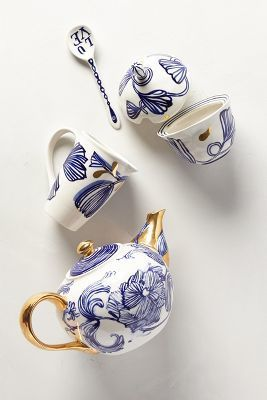 Ruan Hoffmann Jardin Des Plantes Tea Set #anthrofave