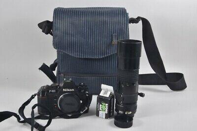 Ebay Sponsored A23m48 Nikon Fotokamera Mit Objektiv Und Tasche