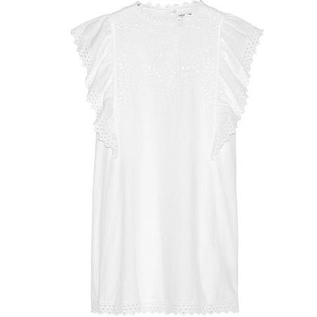 8de7365d5a55a Robe blanche : top 20 des plus jolies robes blanches été 2018 - Elle