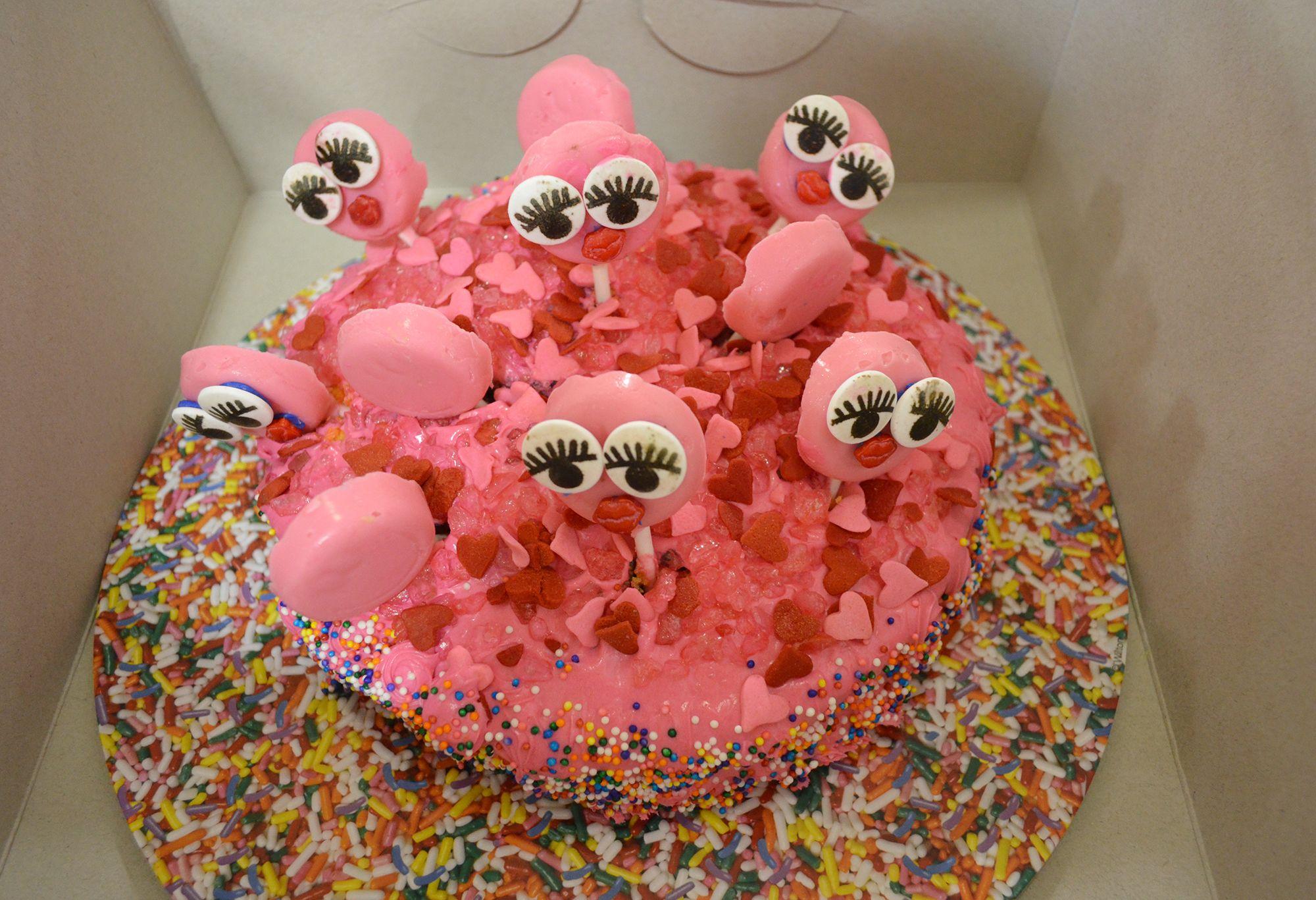 2014 fff a colorful fun round cake cake round cakes