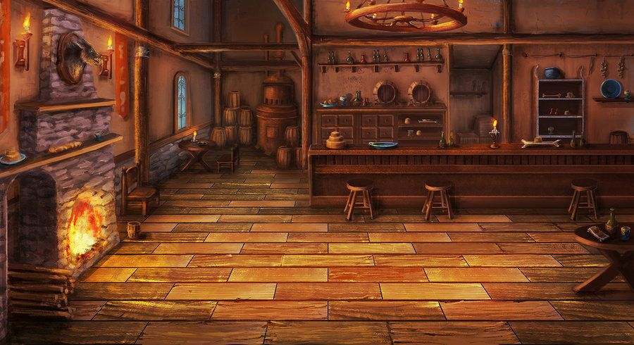 Tavern Bg By Mrainbowwj On Deviantart Tavern Fantasy Landscape Fantasy Inspiration