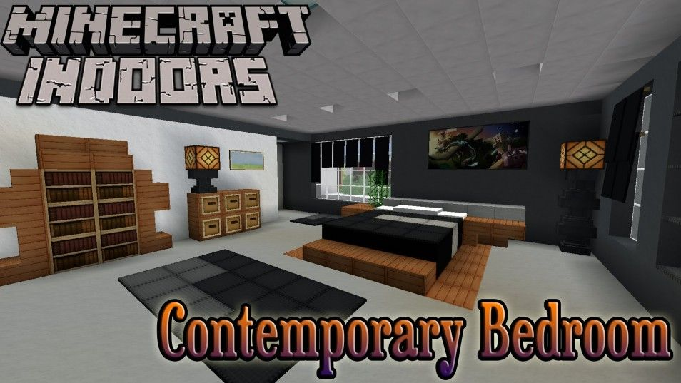 Enchanting Light Cool Room In Best Gaming Bedroom Ideas Minecraft Indoors  Interior Design Contemporary Bedroom Video Part 56