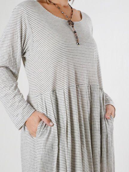 7a31018c553 Bryn Walker Crinkle Stripe Dorrit Dress is available for Spring  16  Pre-order
