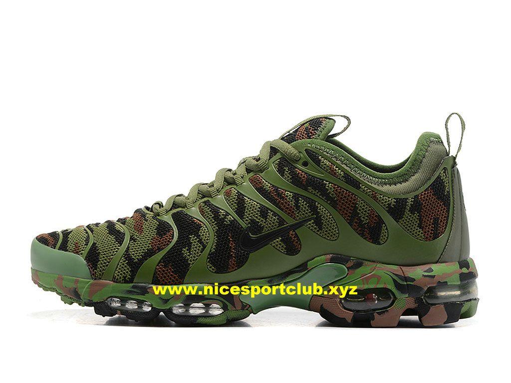 Chaussures Nike Air Max Plus TN Homme Prix Pas Cher Olive Gren  Black-1706120944 -
