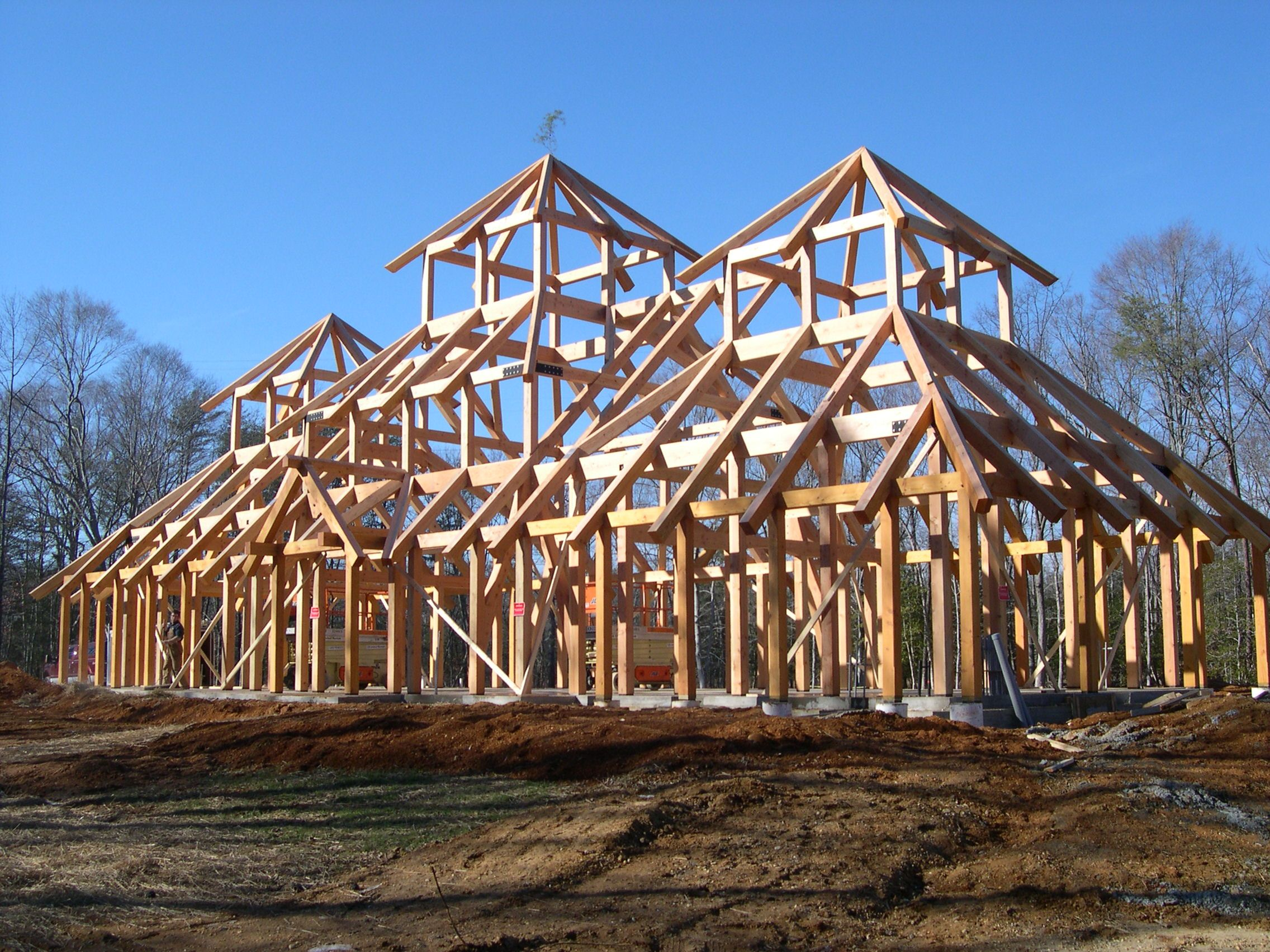 wood framing construction frames won the timber frame business