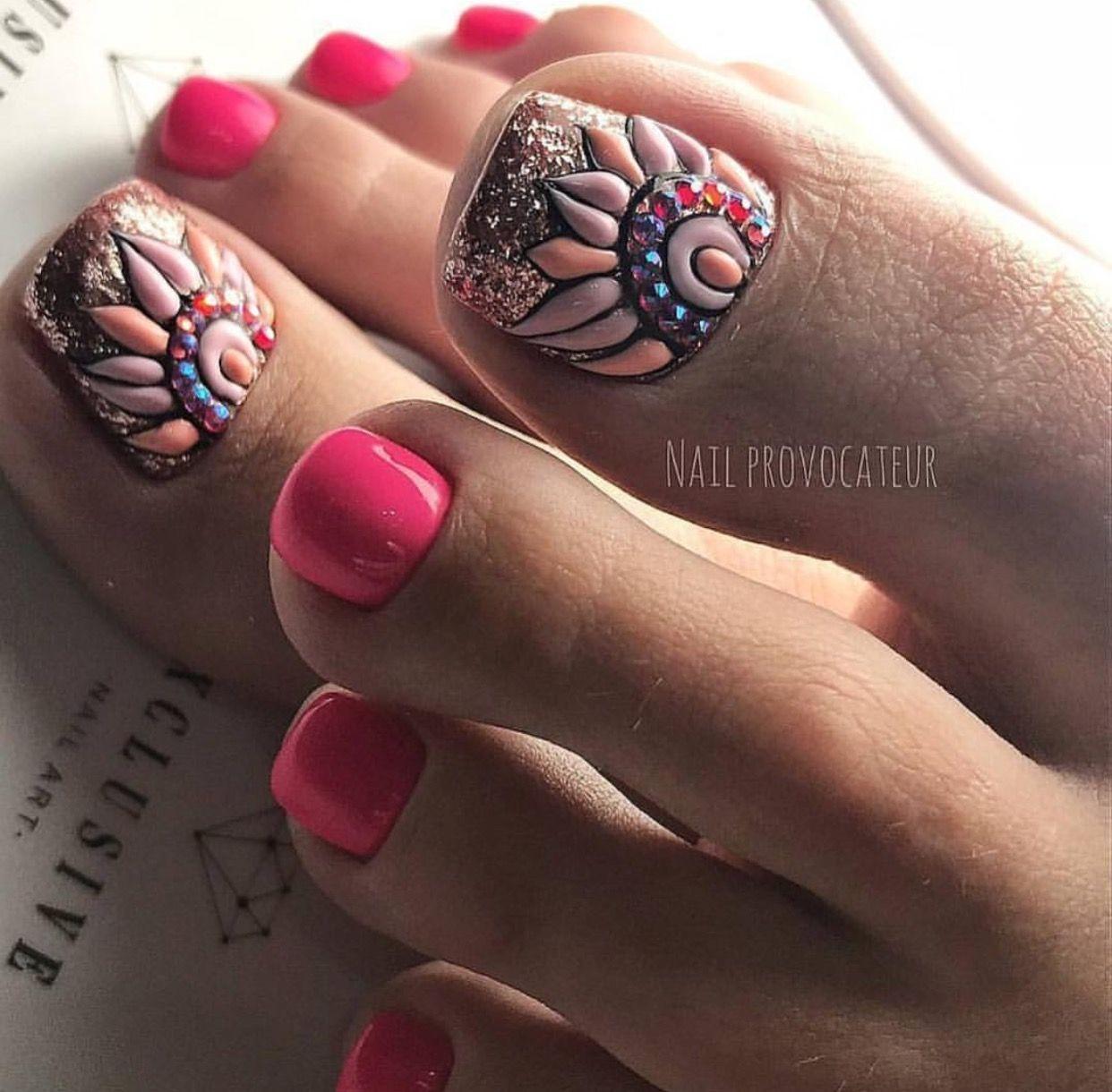 Pretty Nails Unhas, Unhas do pé e Unha -> Decoração De Unhas Do Pé