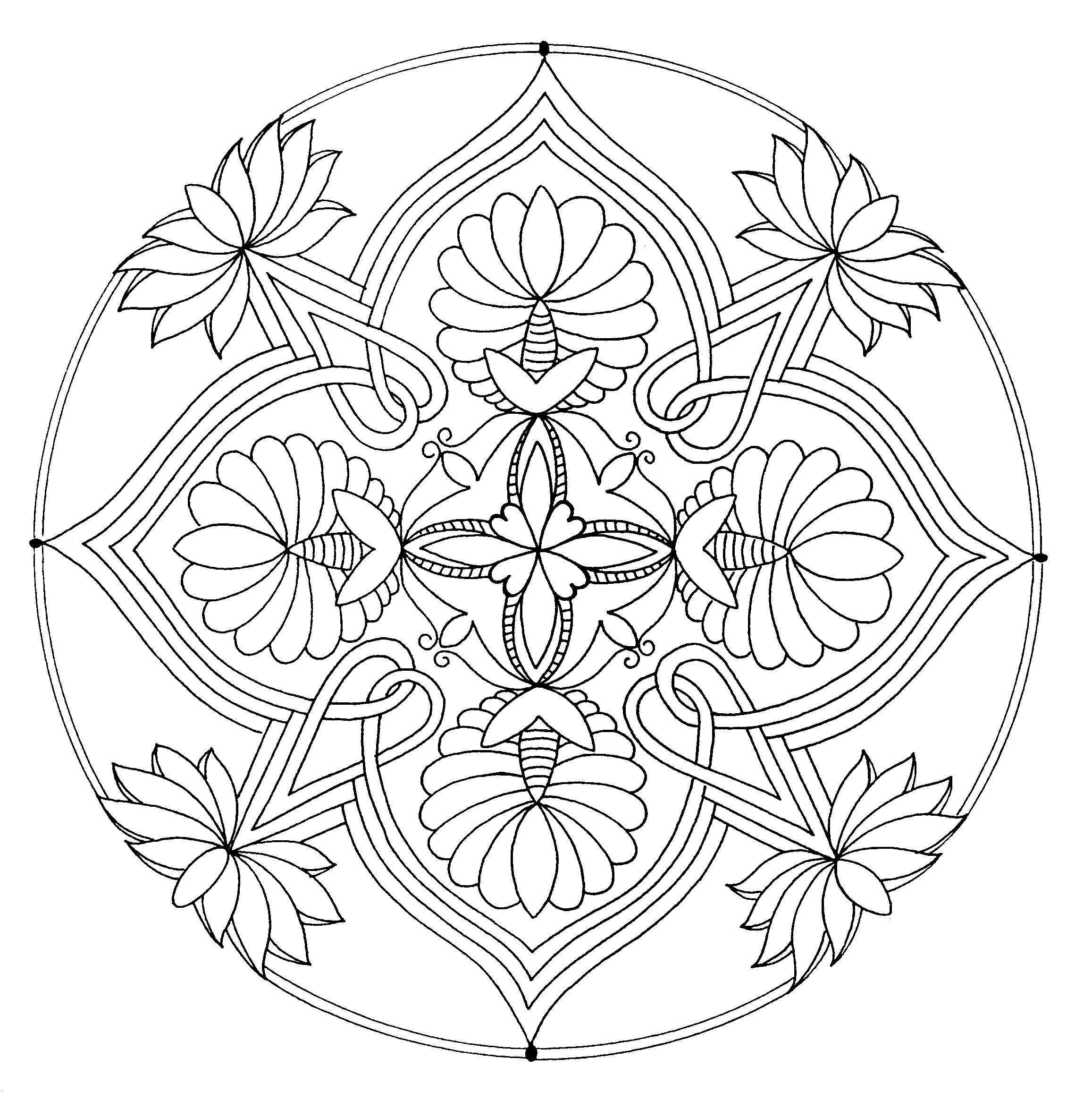 pin bussel roos op kleurplaatjes mandala coloring