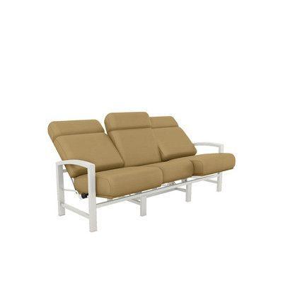 Tropitone Lakeside Patio Sofa With Cushions Finish Cushions On Sofa Sofa Patio Sofa