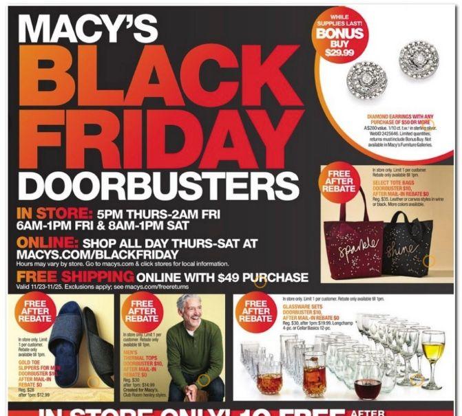 Black Friday 2020 Best Deals Today Work Money Fun Macys Black Friday Black Friday Ads Black Friday
