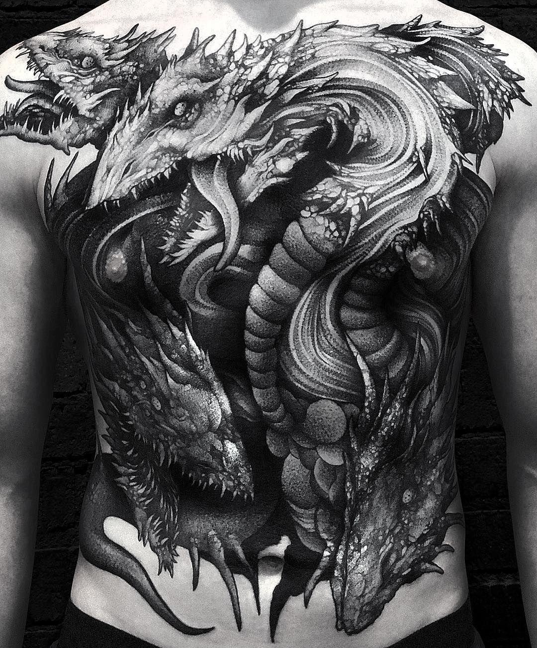 Greek Hydra Tattoo : greek, hydra, tattoo, Blackwork, Hydra, Tattoo, Wpkorvis, Tattoos,, Tattoos, Guys,