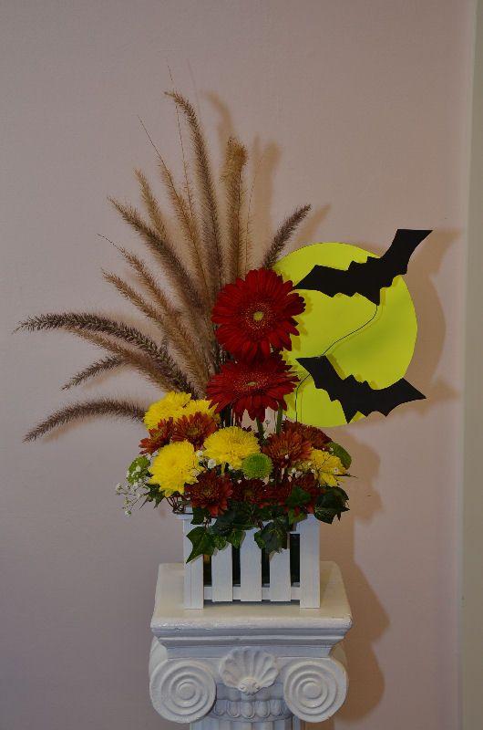 halloween flower arranements   Halloween Flowers   Inspiration- fall ...