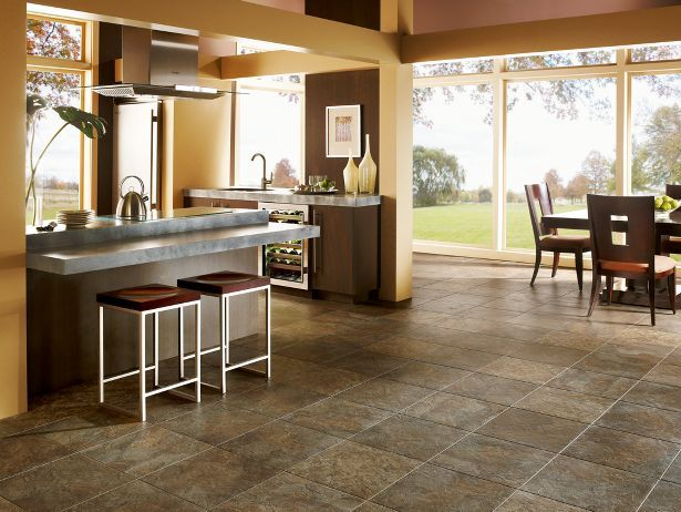 Moselle Valley Forest Green Copper Armstrong Vinyl Flooring Kitchen Flooring Luxury Vinyl