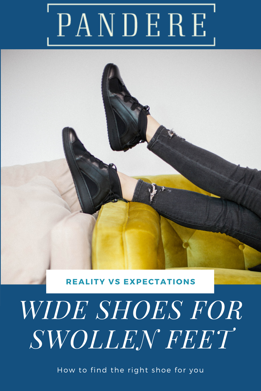 Wide shoes, Wide feet shoes, Swollen feet